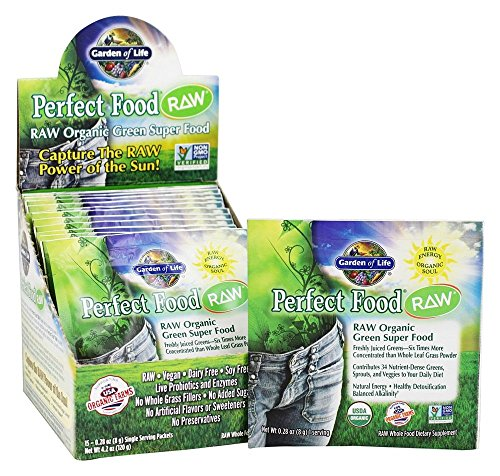 Garden Of Life, Raw Perfect Food Organic, 0.24 Ounce, 15 Count