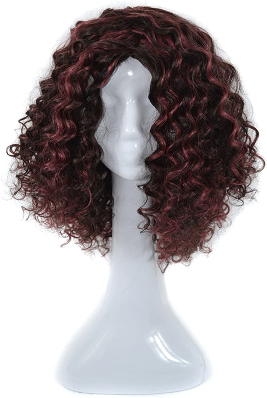 entrega gratis Peluca Peluca de pelo rizado europeo y estadounidense - - - Natural Fluffy Fashion mujer High Quality Pelucas  70% de descuento