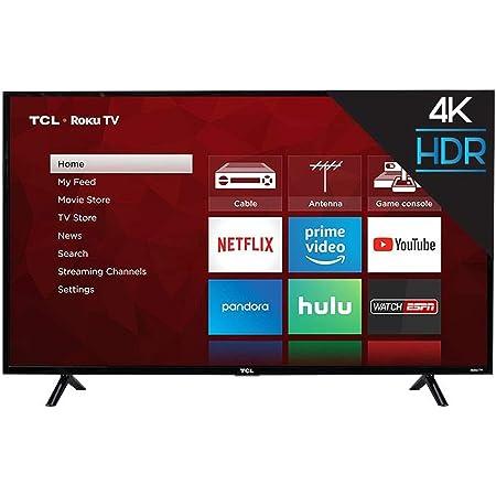 "TCL 65S403 65"" 4K UHD Smart Roku LED TV"