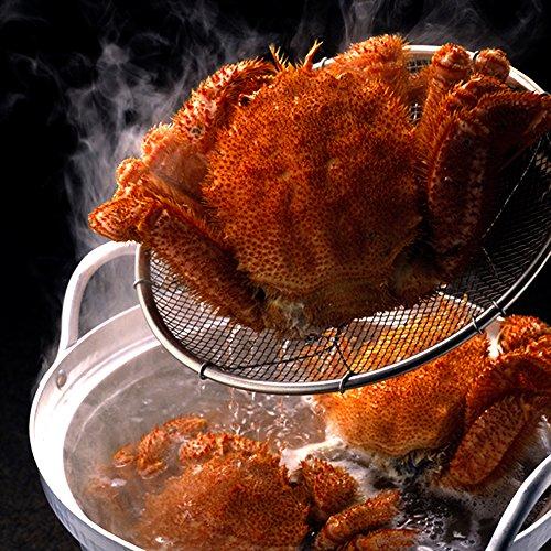 海夢 毛ガニ 北海道産 特大サイズ 極上 蟹味噌たっぷり ボイル済み 天然 毛蟹 約700g×2尾