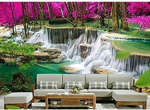 Papel tapiz 3D Papel tapiz de murales 3D de alta gama personalizado para paredes 3D HD Cascada Bosques Fotografía Paisaje frescos decoración de la pared