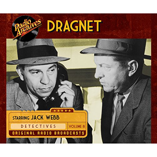 Dragnet, Volume 8 audiobook cover art