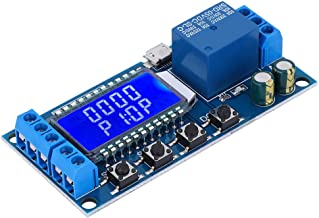 Delay Relay Module, Multifunction Practical Stable Automatically Save Convenient Delay Off Relay, Durable UART Data Upload...
