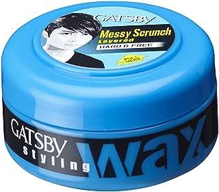 Gatsby Styling Wax, Hard and Free, 25g