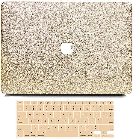 Anban MacBook Air 13 inch Case A1466 A1369 Release 2010 2017 Sparkly Bling Smooth Slim PU Leather product image