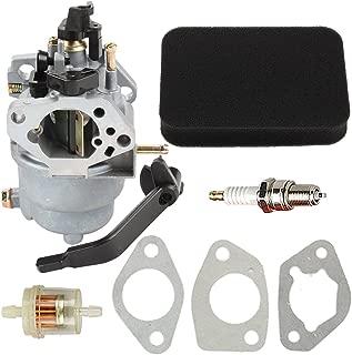 Buckbock Carburetor with Air Fuel Filter for Generac GP5000 GP5500 GP6500 GP6500E GP7500E 389cc 8125W 0J58620157 Jingke Huayi Kinzo Ruixing 13HP 14HP 15HP 16HP 188F 190F Portable Generator
