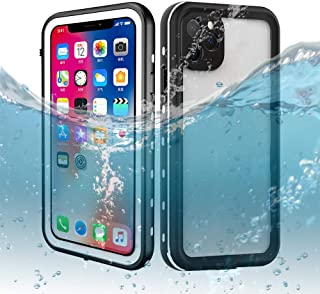 iPhone 11 Pro Max Waterproof Case, Dooge IP69K Certified Shockproof/Dirtproof/Snowproof Full-Sealed Full-Body Heavy Duty Protective Case Built-in Screen Protector for iPhone 11 Pro Max (6.5inch)