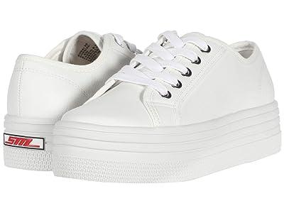 Steve Madden Bobbi 30 Sneaker (White) Women