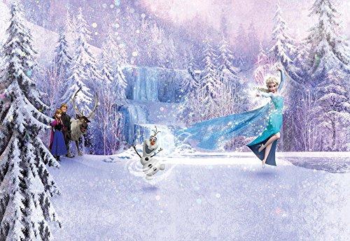 Bild Wand, Kinder Photo Tapeten des Wald Disney eingefroren 368x 254Eis Königin Anna Elsa