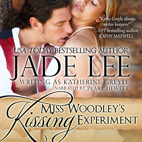 Miss Woodley's Kissing Experiment audiobook cover art