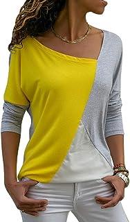 ZJMIYJ långärmad tröja för kvinnor, kvinnor plus size mode t-shirt dam kläder casual lös streetwear långärmad topp t-shirt