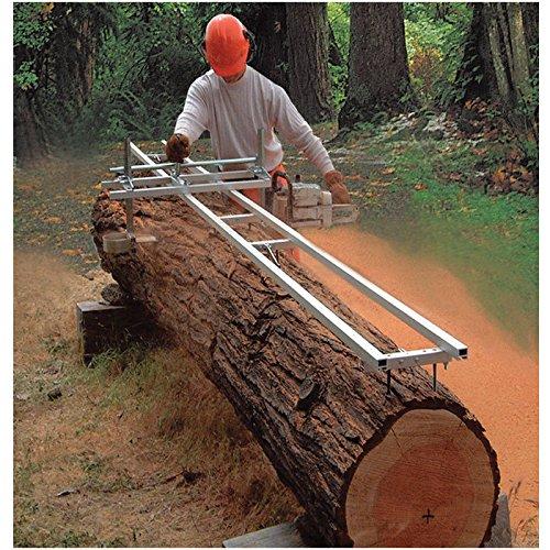 Granberg EZ Rail Sawmill Guide System - 5Ft. 2 Crossbar Kits, Model Number G1085