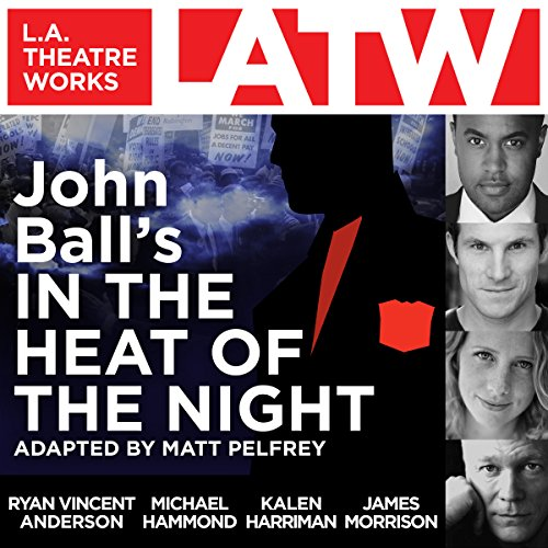 John Ball's In the Heat of the Night audiobook cover art