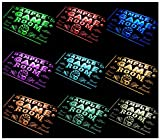 ADVPRO Multi Color Name Personalized Custom Game Room Man Cave Bar Beer Neon Sign Remote Control, 20 Colors, 19 Dynamic Modes, Speed & Brightness Adjustable 16x12 inches st4s43-PL-tm-c