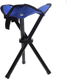 de 3/patas Taburete/ /Silla de camping Tres Patas taburete de 28/cm asiento altura handliche 275/g ligeramente Taburete de tres patas para aluminio plegable