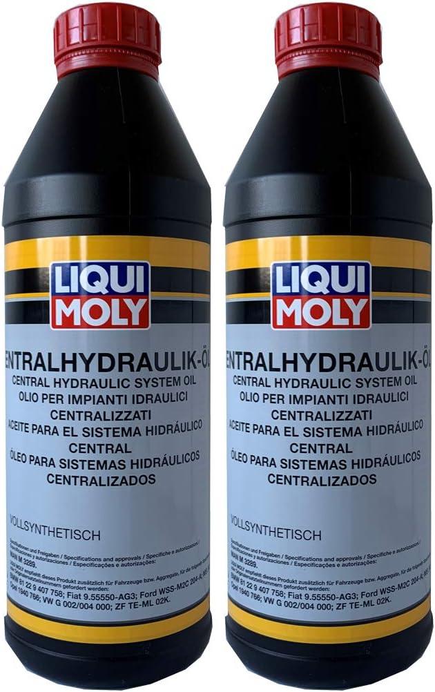 Liqui Moly Zentralhydraulik Öl Hydrauliköl 2x 1 L 2 Liter Auto
