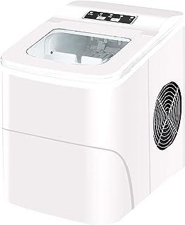 JTJxop Machines À Glaçons Portables, Machine Électrique Portative De Fabricant De Glace De Comptoir, 33 Livres en 24 Heure...