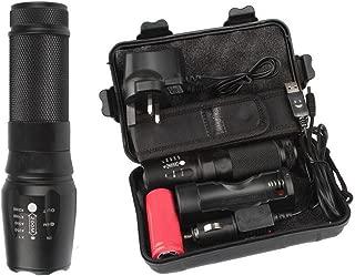 VIASA 6000 Lumens Shadowhawk X800 Genuine Tactical Flashlight L2 LED Military Torch kits