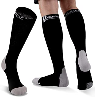 YOUNEEDTHAT Sports Youth Baseball and Softball Socks Team Athletic Performance Anti Blister for Men and Women Non Skid