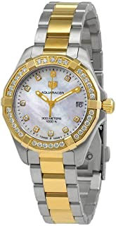 Aquaracer Mother of Pearl Diamond Dial Ladies Watch WBD1323.BB0320