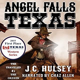 Angel Falls, Texas audiobook cover art