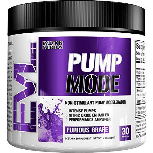 Evl Nutrition Pump Mode 30 Serv Furious Grape Vitamine C