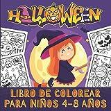 Halloween Libro de Colorear Para Niños 4-8 años: Libro para colorear en Halloween para niños | 30...