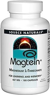 Source Naturals Magtein Magnesium L-Threonate - 180 Capsules