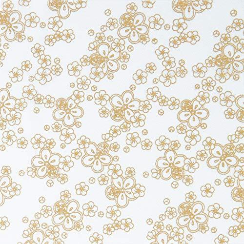 オリムパス製絲(Olympus Thred) 布に塗るぬりえ 花ぬりえ 梅こまち 約23×23cm OLY-HN5