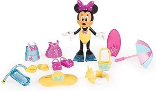 IMC Toys- Disney Figurina Minnie Dia de Playa con Accesorios (182189)