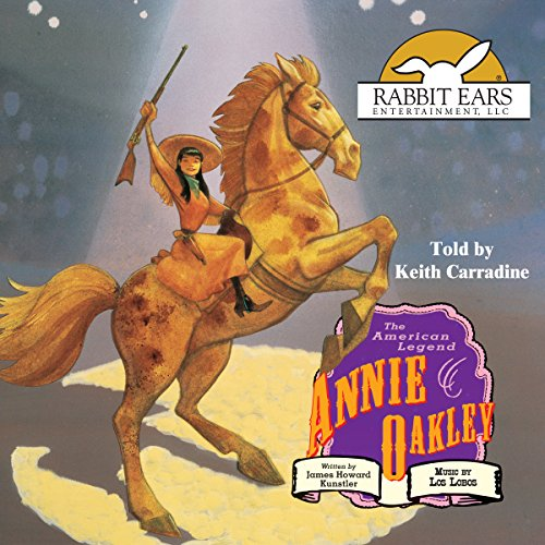 Annie Oakley audiobook cover art