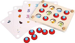 Baosity Montessori Kids Memory Match Game Board Early Development Learning Toys