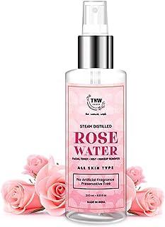 TNW-The Natural Wash Rose Water Spray for Face - Face Toner/Skin Toner/Makeup Remover - For All Skin Types Women & Men (Fr...