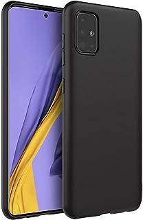 Muzz Galaxy A51 TPU Silicone Soft Thin Back Case For Samsung Galaxy A51 Cover Black