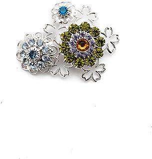 Sorrelli Magnetic Face Mask Charm Embellishment, Multicolored