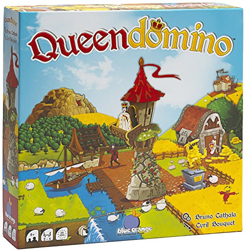 Blue Orange Games Queendomino Board Game - Family or Adult Strategy Board Game for 2 to 4 players. Recommended for ages 8 & Up