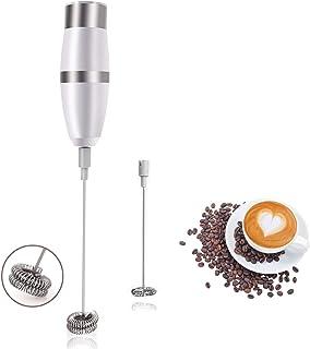 Roawon Máquina de hacer espuma eléctrica para hacer espuma de leche para café, chocolate caliente