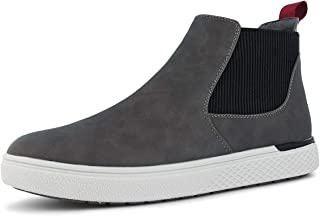Men's Casual Comfortable Slip-on Ankle Chelsea Boots