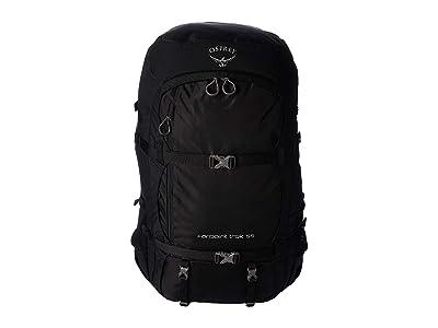 Osprey 55 L Farpoint Trek (Black) Backpack Bags
