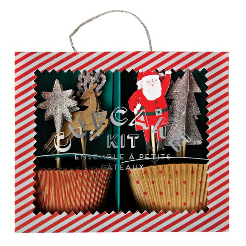 Jingle all The Way Cupcake Kit