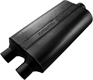 Flowmaster 524553 Super 50 Muffler - 2.25 Dual IN / 3.00 Center OUT - Moderate Sound