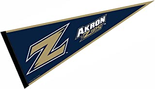 College Flags and Banners Co. University of Akron Pennant Full Size Felt