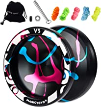 MAGICYOYO Responsive Yoyo V3, Aluminum Yoyo for Kids Beginner, Professional Yoyo with..