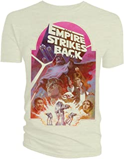 b27798be2 Star Wars - T-Shirt Empire Strikes Back Poster - XL