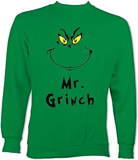 mr grinch christmas jumper, grinch jumper, christmas jumper, christmas jumper man, man, christmas sweatshirt, grinch jumper