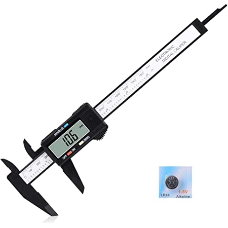 "150mm//6/""LCD Digital Vernier Caliper Gauge Measuring Tool With Auto ON//OFF #"
