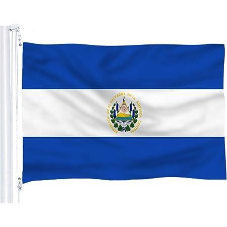 Salvadoran Flag \u2013 National Flag of El Salvador \u2013 United Nations of the World