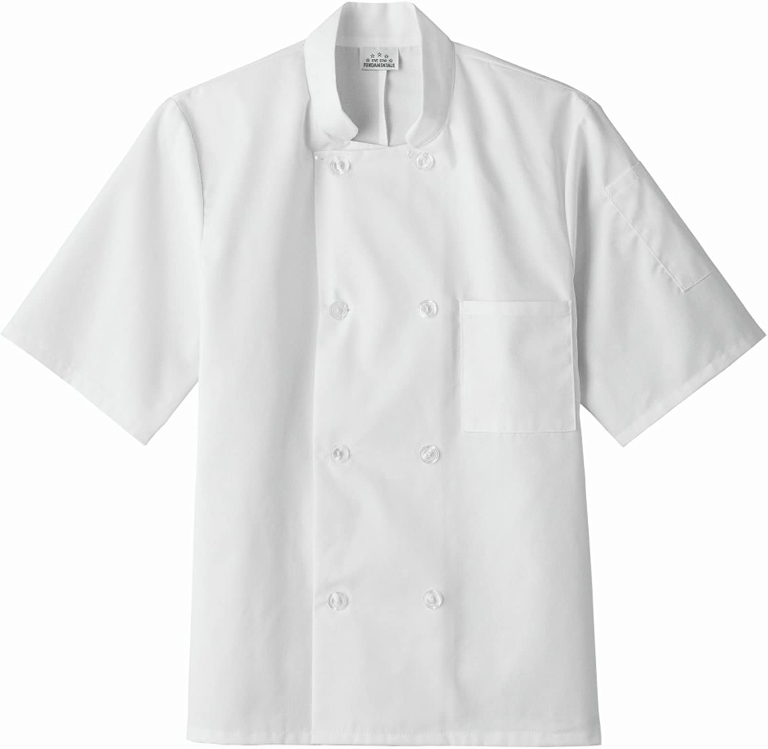 Five Star Chef Apparel 2021 model 18001 Coat Short Unisex All items free shipping Sleeve