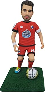 figurina di bambola di argilla polimerica da foto regalo di compleanno calciatore calciatore regali favore decorazione pre...