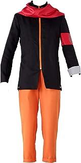 The Last The Movie Naruto Uzumaki Cosplay Costume 4Pcs Set